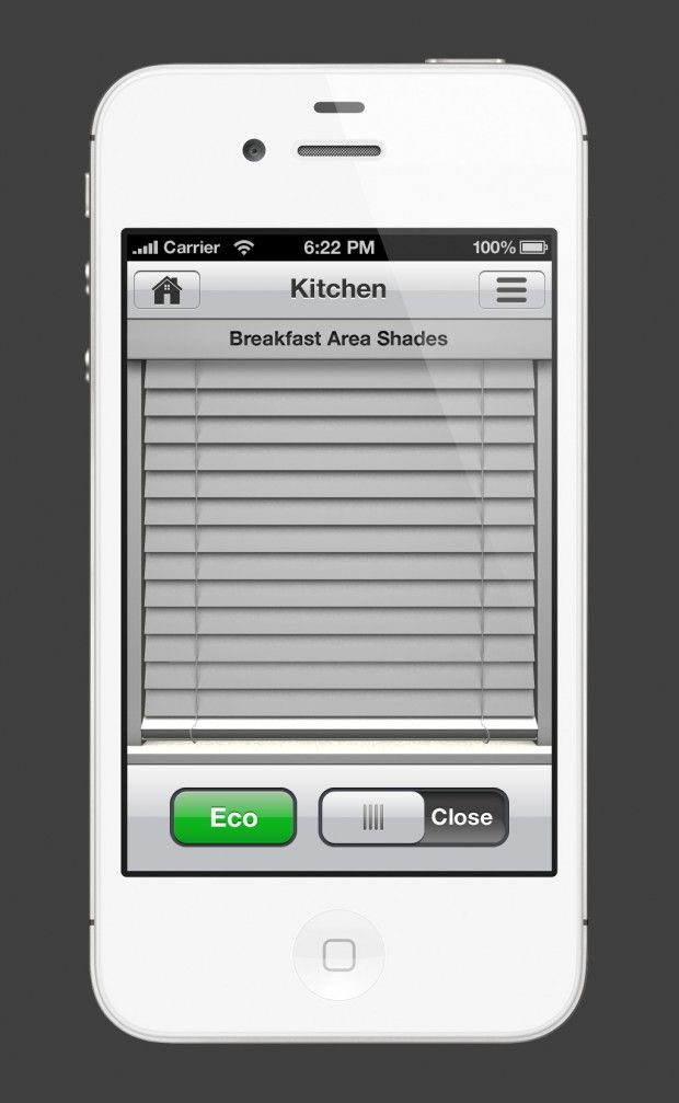 iphone application to control powerpoibt