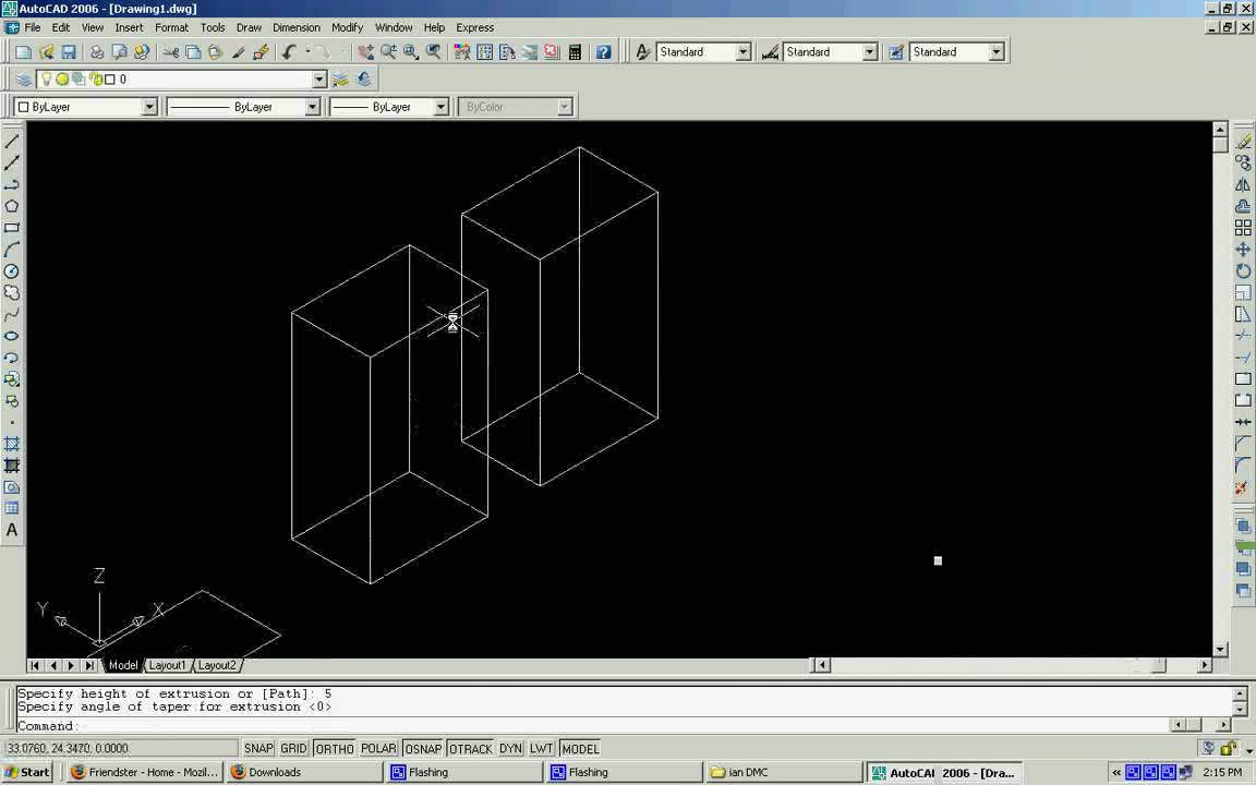 autocad 3d commands list pdf