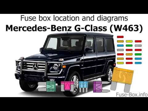 mercedes g class fuse location pdf