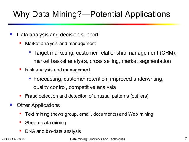 what the mining application in english