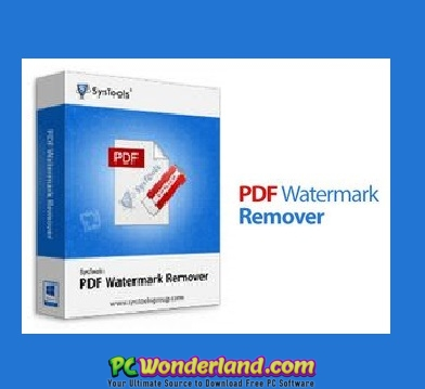 how to erase watermark in pdf