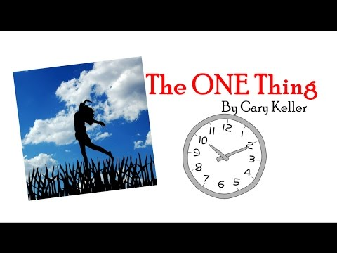 one thing gary keller pdf