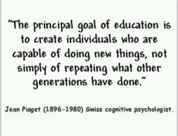 jean piaget philosophy of education pdf