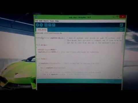 send sensor value from arduino to android application