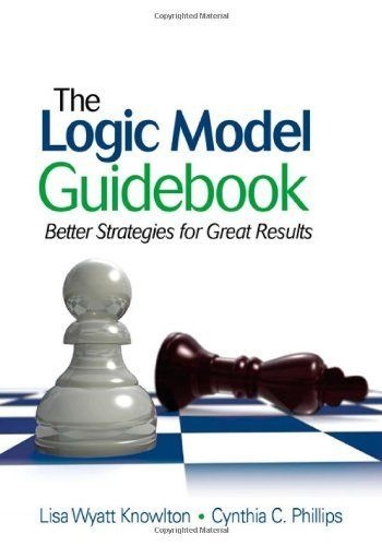 the logic model guidebook better strategies for great results pdf