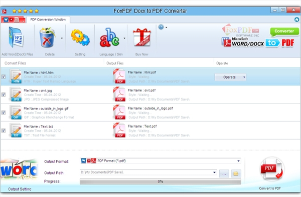 docx to pdf converter free download for windows 7