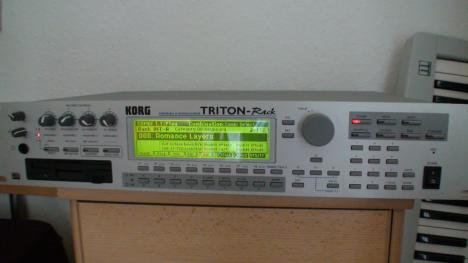 korg triton music workstaion user manual