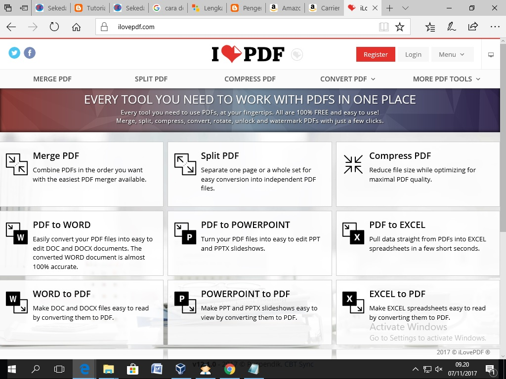 from pdf to word ilovepdf