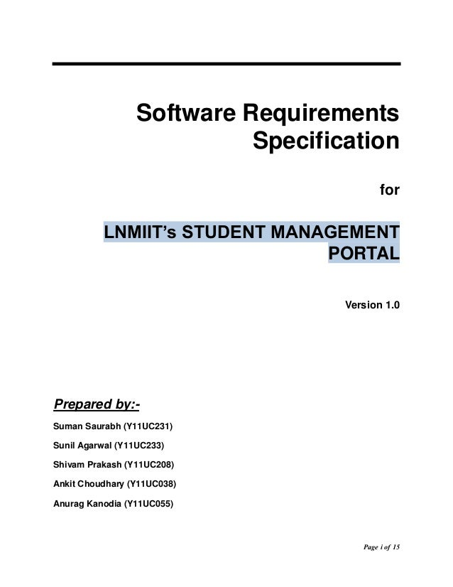 school management system project documentation doc